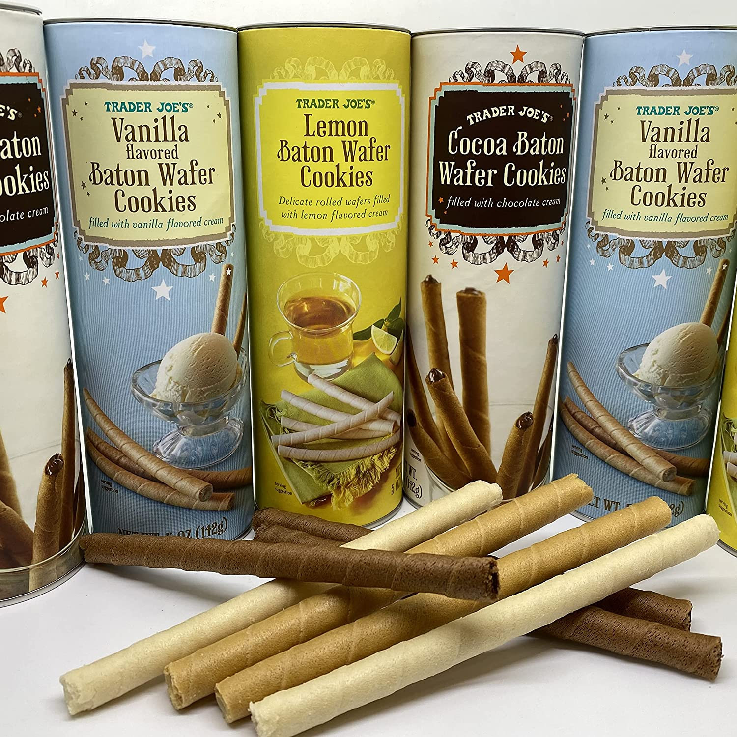 Trader Joe's Assorted Baton Wafer PICK FLAVORS Fixed price for sale YOUR OWN Outlet ☆ Free Shipping Cookies