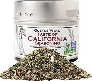 Gustus Vitae - Taste of California - Authentic Artisanal Spice Blend - Gourmet Seasoning - Non GMO - All Na...