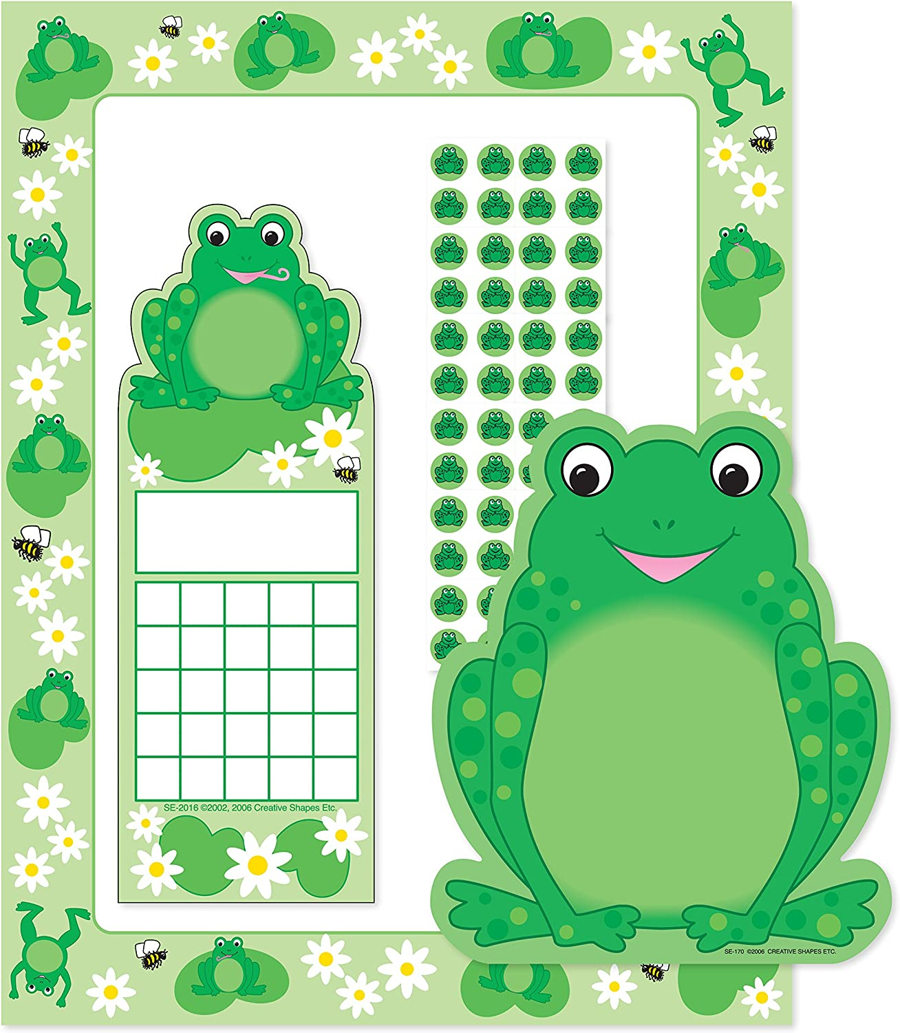Amazon Com Frog Stationery Set Office Products