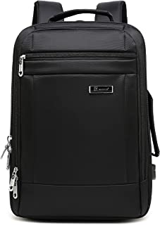 Business Bag 2way Expansion USB Charger Earphone Port 14 inch PC Briefcase Backpack