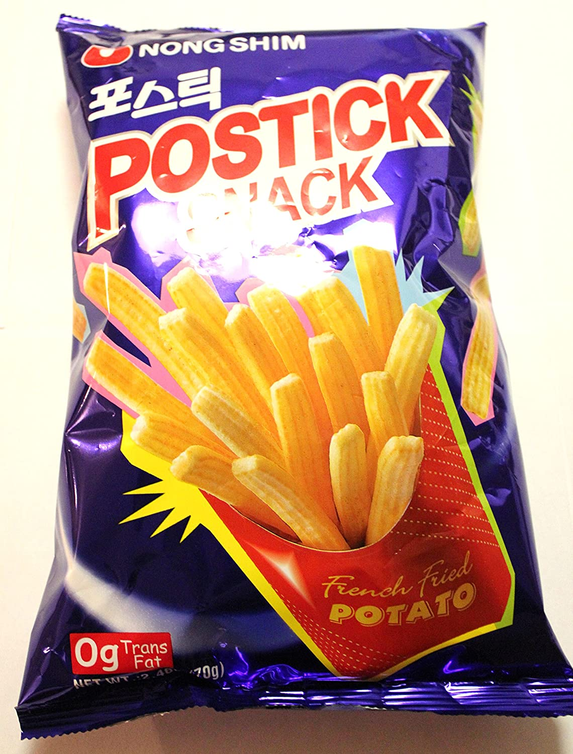 Nong Shim Postick Max 63% OFF Snack Store French Fried 70g Chips Potato 4 Pack of