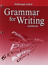 McDougal Littell Literature: Grammar for Writing Workbook Grade 7