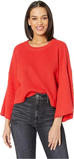 In the Mix Mixed Stitch Sweater
