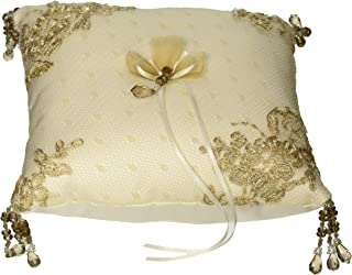 Bella Donna Wedding Accessories Ring Pillow, Ivory