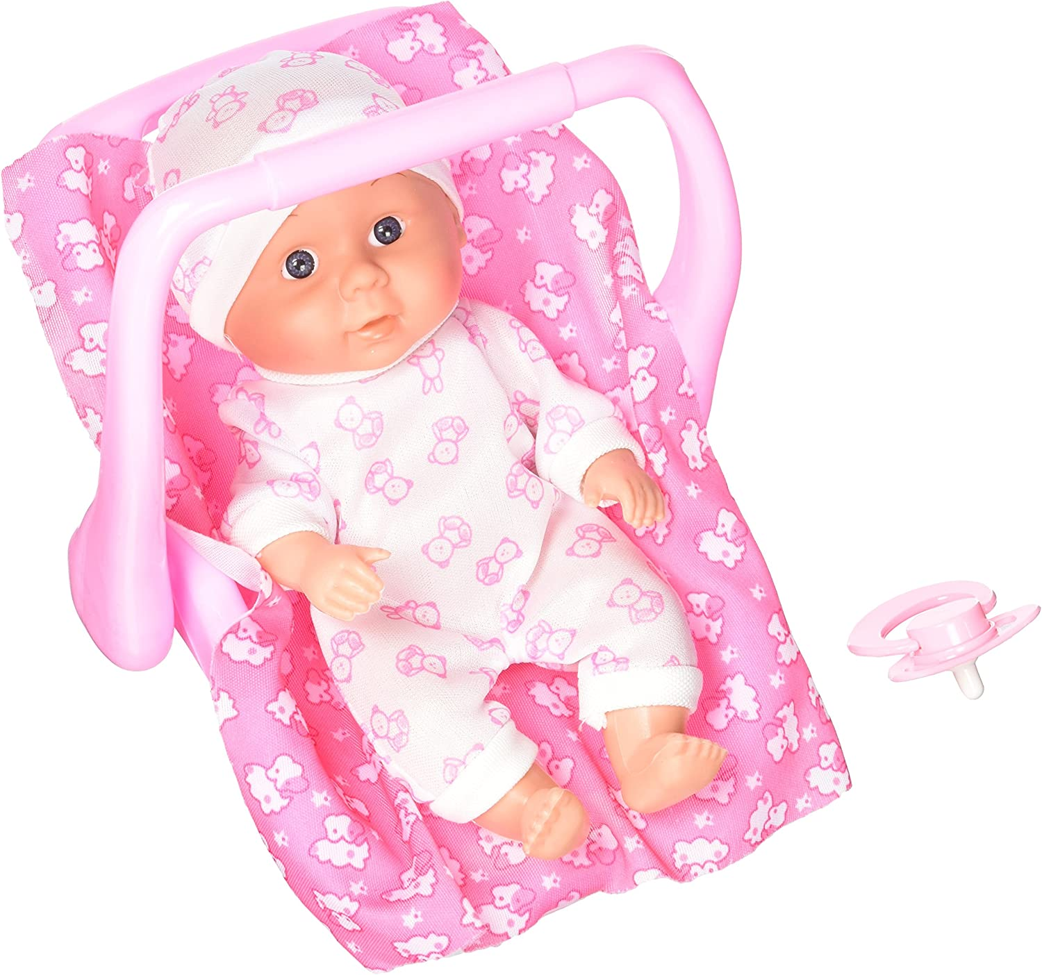My Little Baby Realistic Baby Toy Doll in Rocker w  Pacifier & Rocker