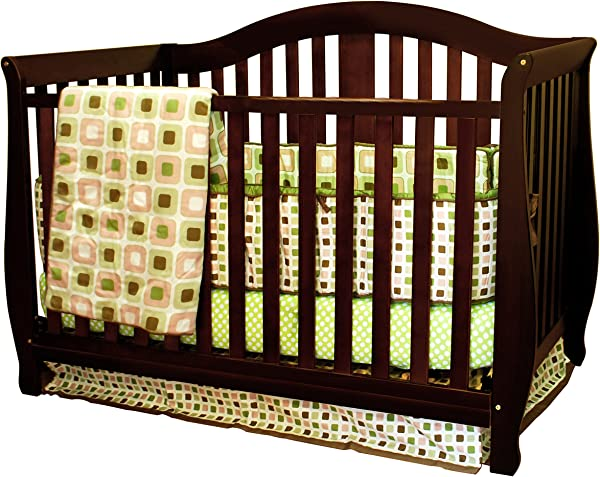 Athena AFG Desiree 4 In 1 Convertible Crib Espresso