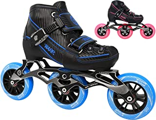 Children's Inline Speed Skates - Adjustable Kids Rollerblades - Roller Blades for Boys and Girls - Indoor and Outdoor Childrens Roller Skates - Size Adjustable Comfort for Your Kid - Youth Skates