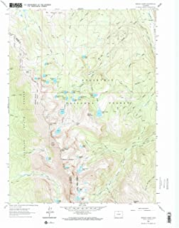 Colorado Maps - 1962 Rawah Lakes, CO USGS Historical Topographic Map - Cartography Wall Art - 44in x 55in