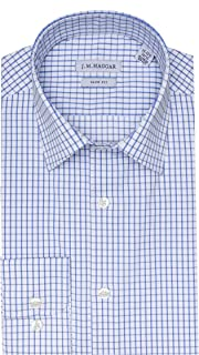 Haggar Men's Premium Performance Slim Fit Dress Shirt
