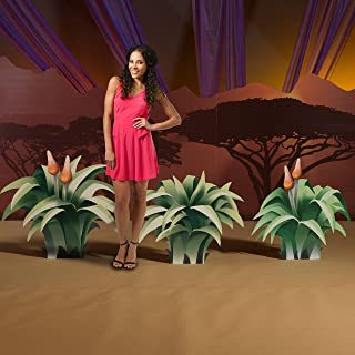 2 ft. 5 in. to 2 ft. 11 in. Wild Jungle Safari Dreams Grass Cardboard Cutout Standee Standup Props Party Supplies Decorations Decor Backdrop Background