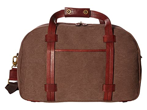 Leather Duffel Washed Bosca Dark Brown Brown Colección f0wg8UqcH