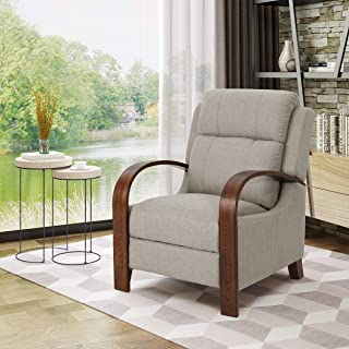 Christopher Knight Home Randall Recliner, Beige + Brown