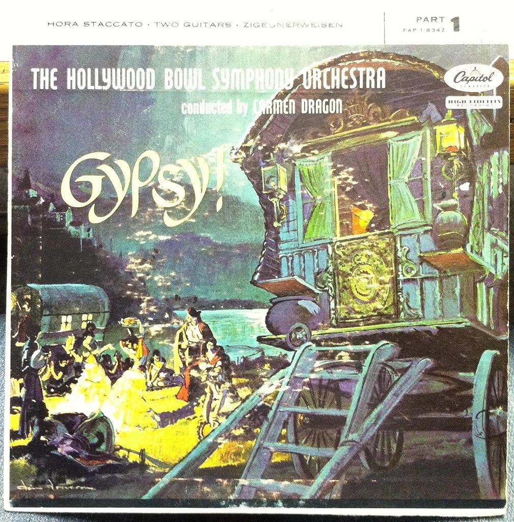 CARMEN DRAGON GYPSY PART 1 45 rpm single