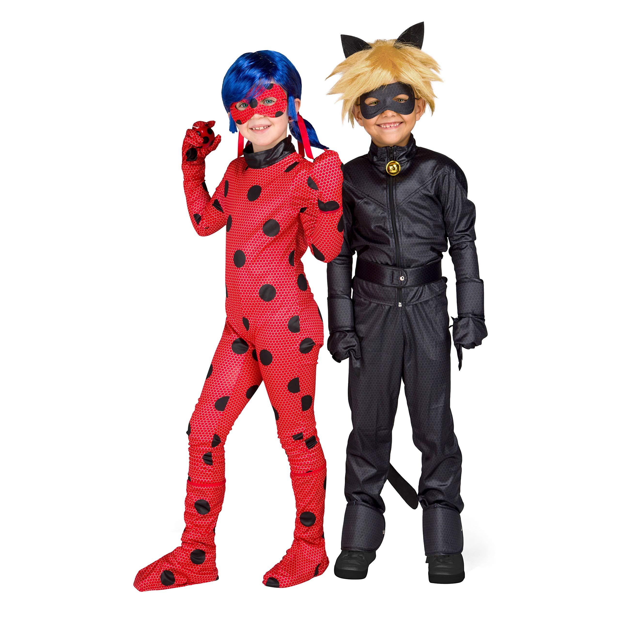 My Other Me Me 231152 Miraculous Cat Noir - Disfraz para niños, 9 ...