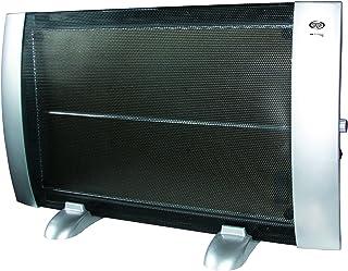 Argoclima HI Floor Ray Calefactor, 1500 W, Plástico, Negro y plata