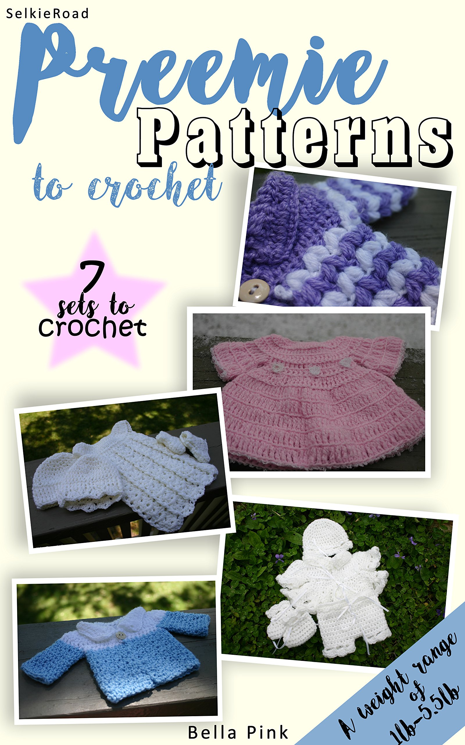 Baby Doll Bassinet: Crochet Pattern for Baby, Preemie, and Tiny Dolls (Patterns By Jeannine)