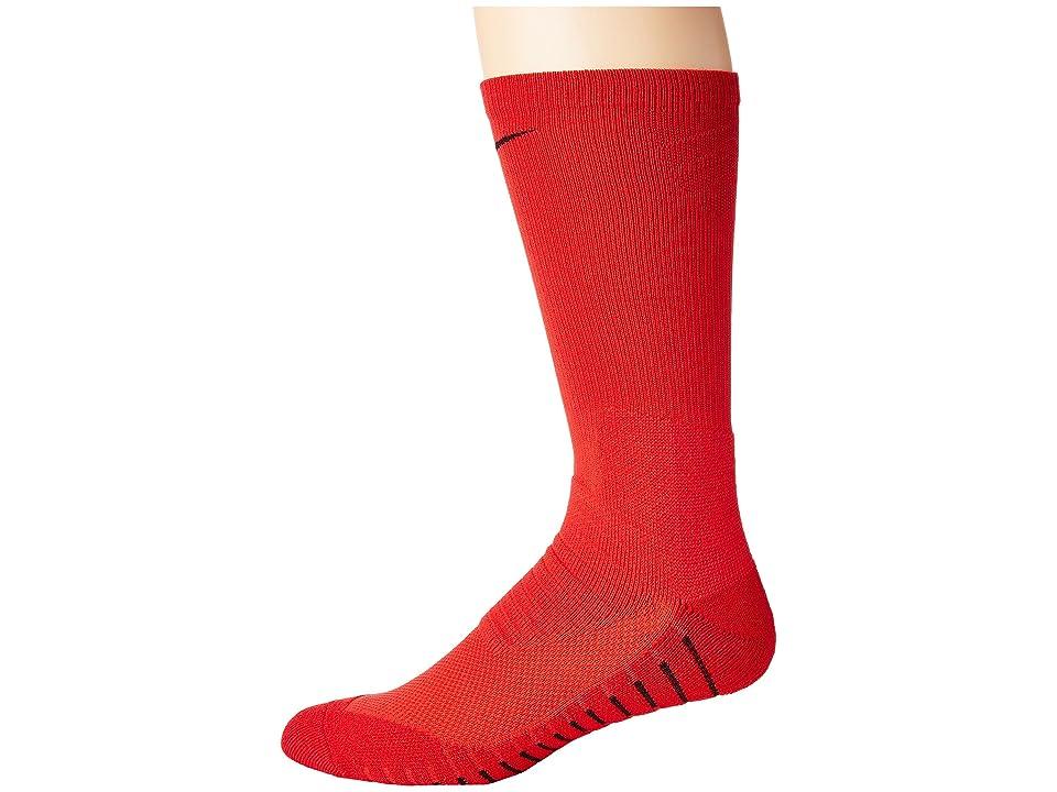 Nike VPR Crew Sock (University Red/Black) Crew Cut Socks Shoes