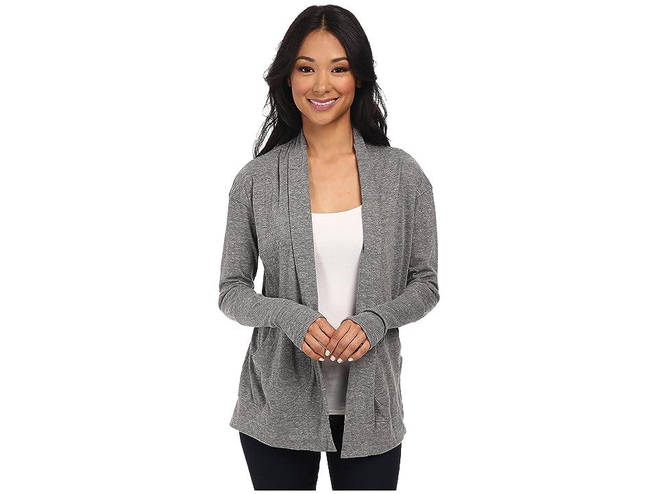 Alternative Eco Jersey Rib Sleeve Wrap (Eco Grey) Women