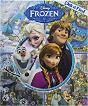 Disney - Frozen Look and Find Activity Book- PI Kids