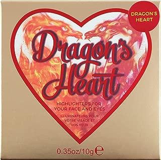 Makeup Revolution I Heart Makeup Highlighter, Dragons Heart, 10g