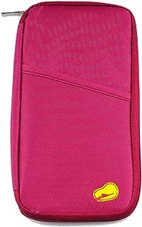 Kirinstores(TM) Travel Wallet Passport Holder Purse Credit Card Case - Red