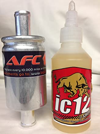 LPG GPL IC12 LPG Injector Cleaner 100ml and 12x12 filter and clips