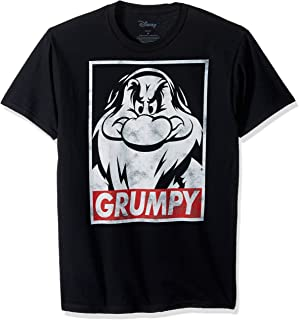 Men's Snow White and Seven Dwarfs Grumpy Graphic T-Shirt
