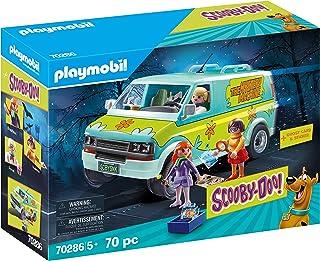 PLAYMOBIL Scooby-DOO La Máquina del Misterio con Efectos de Luz, A Partir de 5 Años (70286)