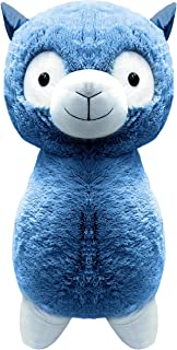 Peek-A-Boo Toys Dolly Llama Stuffed Animal Plush Toy Gift | Precious Blue Fuzzy Friend | 15 Inches | Blue Soft 15