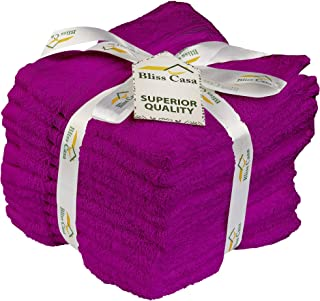 Cotton Washcloth – Face Cloths (size of 30 x 30 cm, 12 Packs, 600 GSM) - Gym Towel, Bathroom & Kitchen Cleaning Towel – Ma...
