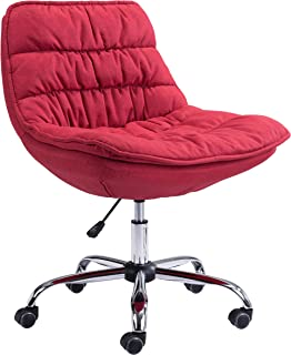 Zuo Modern Office Chair Red Down Low