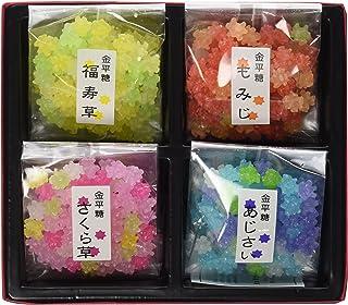 【豆富本舗】京都 四季のうつろい 金平糖 四季 40g×4袋入