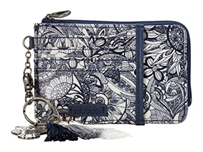 Sakroots Laguna Card Wallet (Navy Spirit Desert) Handbags
