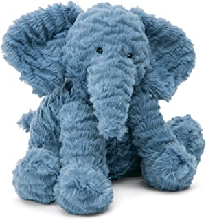 Jellycat Fuddlewuddle Elephant Stuffed Animal, Medium, 9 inches