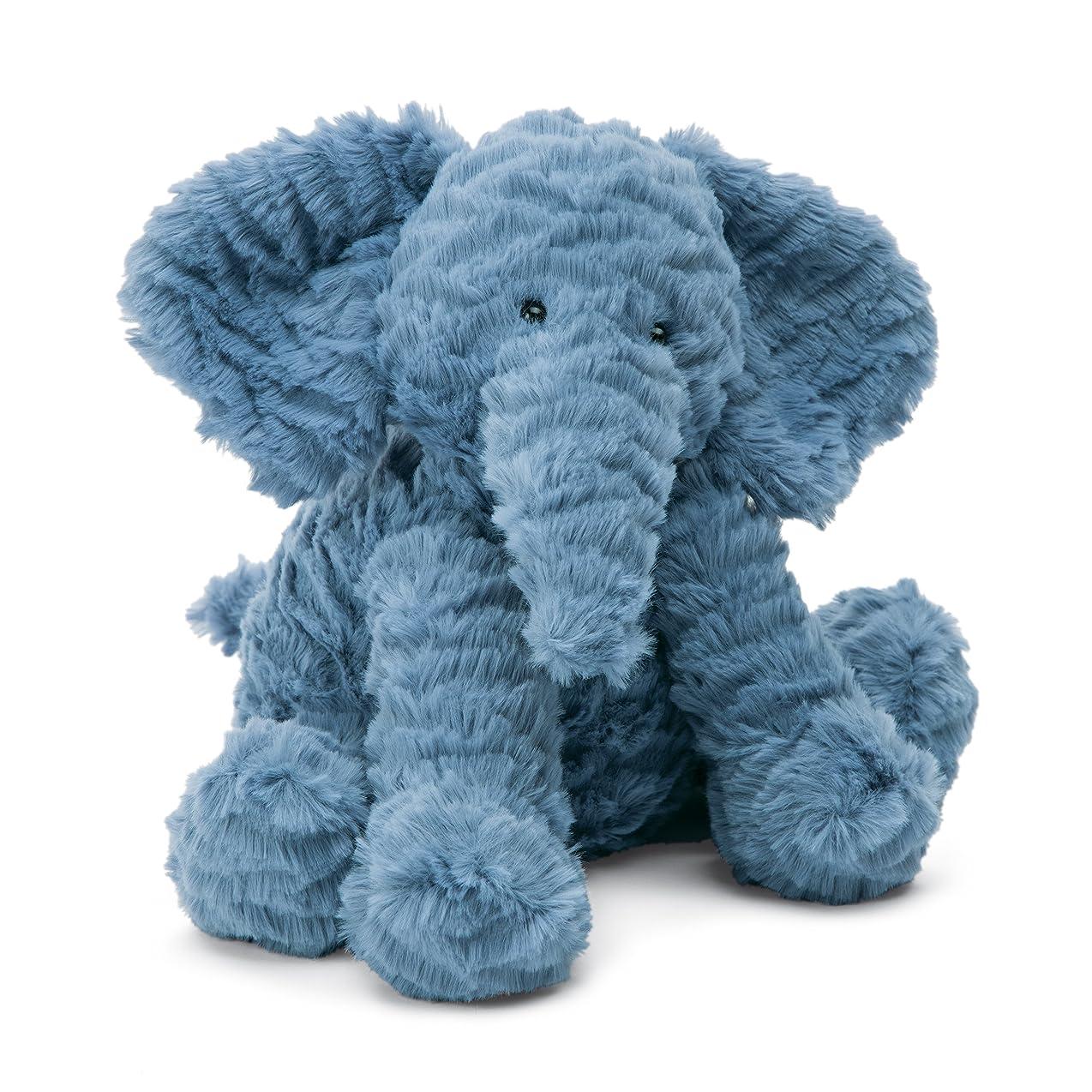 完了申込み死にかけているJellycat Fuddlewuddle 象のぬいぐるみ Mサイズ 9インチ