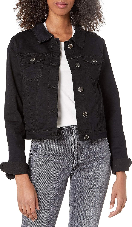 V.I.P. JEANS Women's Max 85% OFF Jeans Denim Distres Blue Crop Frayed Phoenix Mall Jacket