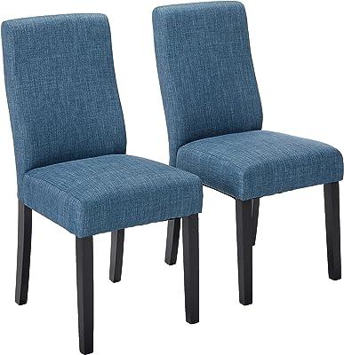 Christopher Knight Home Corbin Dining Chairs, 2-Pcs Set, Indigo