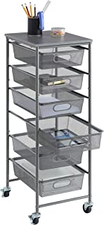 Best rolling office cart with drawers Reviews