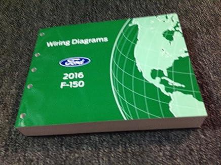 2016 ford f-150 f150 truck wiring diagrams service repair shop manual ewd  2016