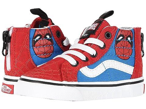spiderman vans shoes kids