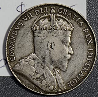 1910 canada 50 cents