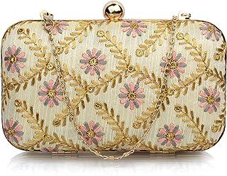 Mammon minaudiere Women's clutch(Br-SF-grey-pink)