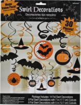 Modern   Witches and Bats   Halloween Swirl Decoration