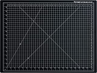"""Dahle Vantage 10672 Self-Healing 5-Layer Cutting Mat Perfect for Crafts and Sewing 24"""" x 18"""" Black Mat"""