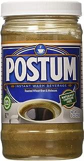 Postum 8 Oz. Roasted Wheat-Bran & Molasses Instant Warm Beverage, Pack of 12