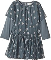 Stella McCartney Kids - Mouse Star Print Tulle Dress (Infant)