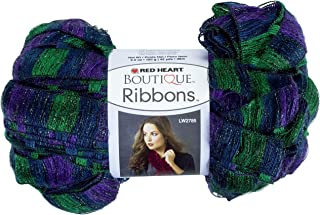 Red Heart Boutique Ribbons Yarn, Grapevine (E790.1933)