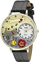 Schnauzer Watch in Gold (Large)