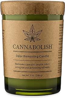 Cannabolish Smoke Odor Eliminating Candle, 7 oz, Natural Ingredients