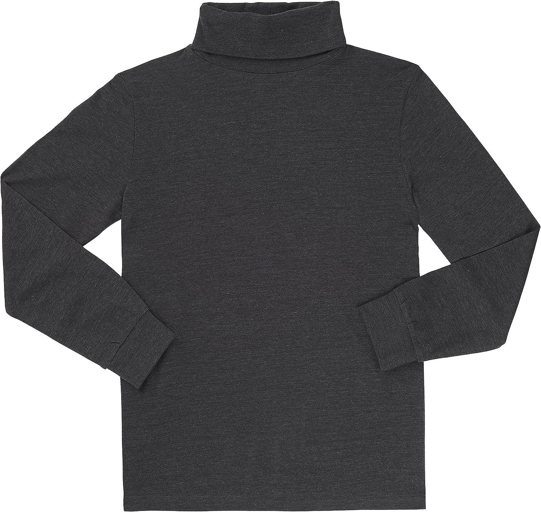 French Toast School Uniform Boys Long Sleeve Turtleneck T-Shirt
